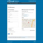 Focus Tech Contact Page